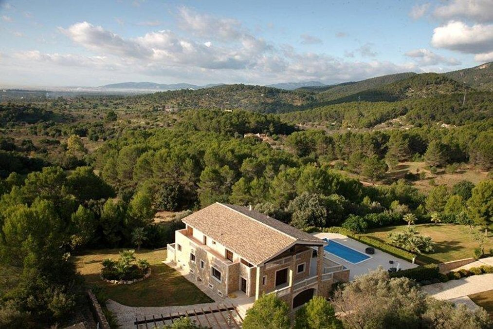 - Magnificent and luxurious finca in Santa María with panoramic views of the mountains and guest apartment